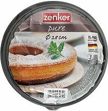 Zenker - Teglia con fondo piatto e tubo, Ø 18 cm,
