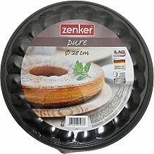 Zenker Teglia con Fondo Staccabile a 2 posti, 28 cm