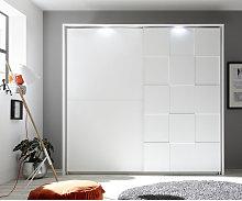 Zenzero Shop - Armadio bianco opaco moderno a 2