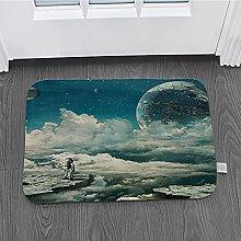 Zerbino 3D Tappeto Stampa Tappetino Per Astronauta