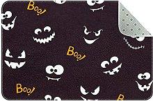 Zerbino Boo per Halloween, antiscivolo, lavabile