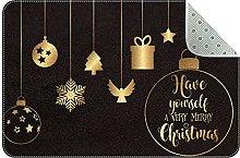 Zerbino da appendere con decorazioni natalizie,