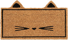 Zerbino gatto marrone 45x27 cm