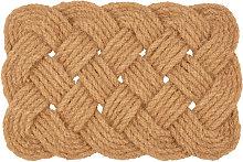 Zerbino intrecciato in corda, 40x60 cm