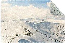 Zerbino invernale con neve, antiscivolo, lavabile