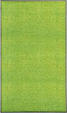 Zerbino Lavabile Verde 90x150 cm