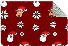Zerbino natalizio, antiscivolo, lavabile in