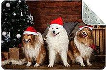 Zerbino natalizio per cuccioli di cane,