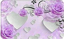 Zerbino, peonia bianco cuore fiore,impermeabile