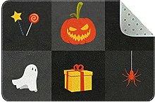 Zerbino per Halloween, zucca, antiscivolo,