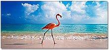 Zerbino Stampa 3D Tappetino Da Cucina Flamingo
