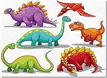 Zerbino Tappeti Di Dinosauro Per Soggiorno Casa