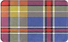 Zerbino, tappeto quadrato con trama a quadretti