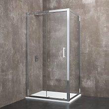 Zermatt - Box doccia rettangolare 80x100x185 cm