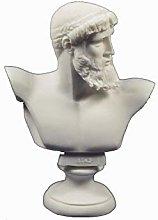 Zeus scultura busto antico Dio greco re di tutti