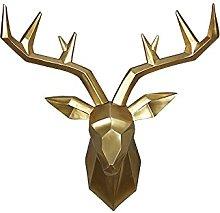 ZGPTX 3D Big Deer Statua Scultura Accessori per la