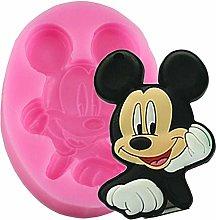 ZHQIC Stampi in Silicone 3D Mickey Mouse Strumenti