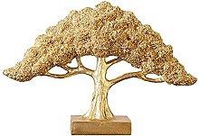 ZHYLing Soldi Albero Decorativo Statua in Resina