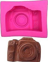zis Fotocamera fondente torta fondente stampi in