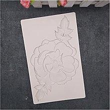 zis Pietra del fiore della peonia stampo del torta