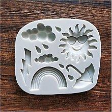 ZIS - Stampo in silicone a forma di nuvola di sole