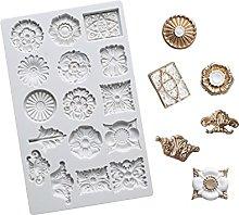 ZIS - Stampo in silicone con pietre preziose,