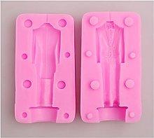 ZIS - Stampo in silicone per abiti da sposa, 3D,