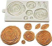 ZIS - Stampo in silicone per decorazioni di torte,