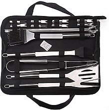 ZIYEWAN Kit per Barbecue Valigetta per Utensili