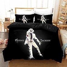 ZKDT Proxiceen Michael Jackson Quilt Cover Set di