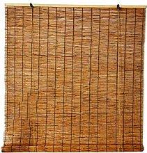 ZKORN Finestre Avvolgibile Bamboo, Tende a Lamella