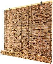 ZKORN Finestre Avvolgibile Bamboo,Tende a Lamella