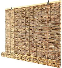 ZKORN Naturale Avvolgibile Bamboo, Retro Canna