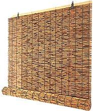 ZKORN Naturale Avvolgibile Bamboo, Tenda di bambù
