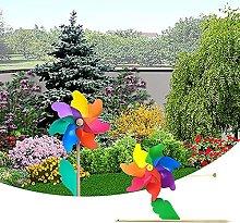ZLJ Decorazione da Giardino Mulino a Vento