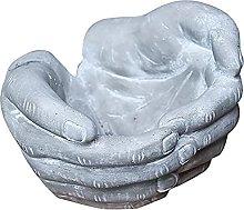 ZLJ Vaso da Fiori in Cemento Statua Fatta a Mano