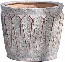 ZLJ Vaso da Fiori retrò Vintage Ceramica Grande