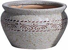 ZLJ Vaso da Fiori Vintage Ceramica Grande Gres