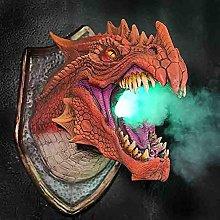 ZNKITES 3D Parete Dinosaur Scultura Ufficio della