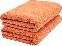 ZOLLNER 2 Asciugamani per la Sauna, Arancione,