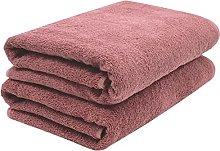ZOLLNER 2 Asciugamani per la Sauna, Rosa Vecchio,