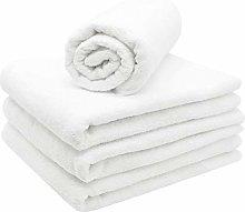 ZOLLNER 4 asciugamani da sauna e doccia, 70x180