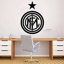 zqyjhkou Inter Milano Room Decor Autoadesivo