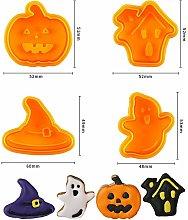 Zqyrlar - 4 pezzi di stampini per biscotti di