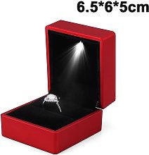 Zqyrlar - Scatola con anello illuminato a LED
