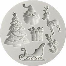 Zqyrlar - Stampo in silicone natalizio, stampo per