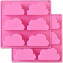 Zqyrlar - Stampo nuvola in silicone, stampo per