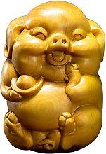 ZSQZJJ Home Decor Ricco Maiale Bosso Carino Piggy