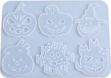 Zucca di Halloween Ciondolo Stampo In Silicone