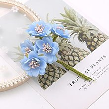 Zunor 6 Pezzi Mini Bouquet di Seta Fiore